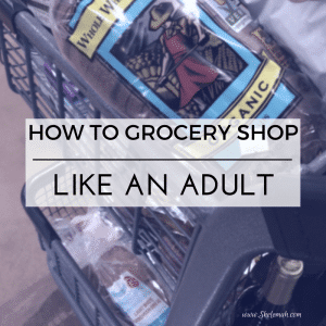 How to Grocery Shop Like an Adult